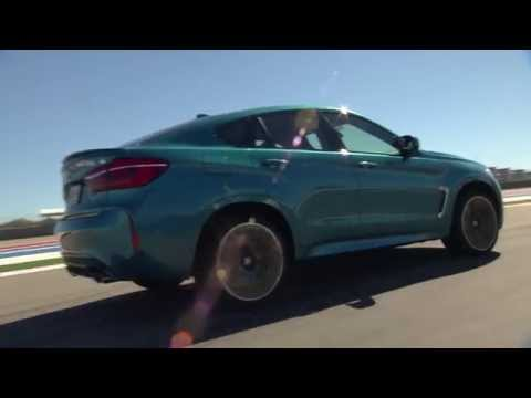 New BMW X6 M on the race track
