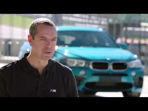 Franciscus van Meel explains the BMW X6 M
