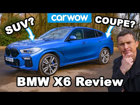 [carwow] New BMW X6 M50d review: see just how quick a diesel SUV can be!