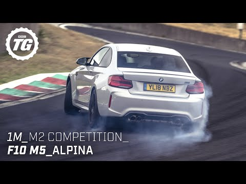 [Top Gear] Chris Harris drives... Best of BMW: 1M, M2, Alpina, F10 M5, M2 Competition