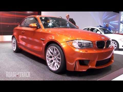 [RoadandTrack] 2011 BMW 1 Series M Coupe @ 2011 Detroit Auto Show