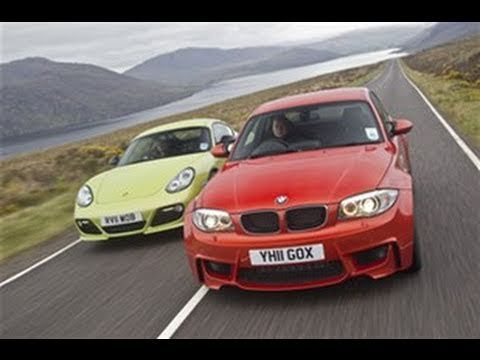 [Autocar] BMW 1-series M vs Porsche Cayman R video review