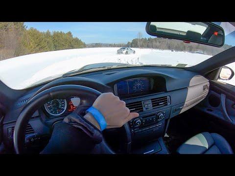 [WR Magazine] E92 BMW M3 SnowCross on Vredestein Wintrac Pro Tires - POV Winter Driving (Binaural Au