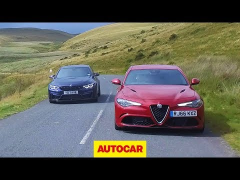 [Autocar] Alfa Romeo Giulia Quadrifoglio vs 2018 BMW M3 Competition Pack | Super saloon review