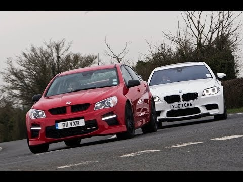 [Autocar] Battle of the super-saloons - Vauxhall VXR8 takes on the BMW M5