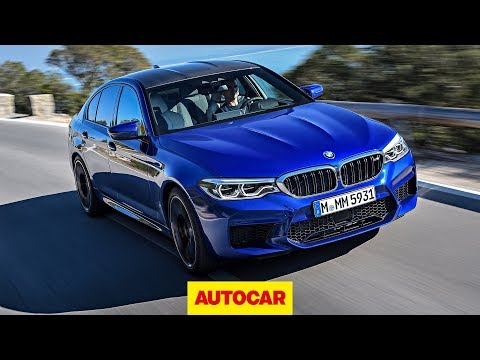 [Autocar] BMW M5 2018 review | New Mercedes-AMG E63 rival tested