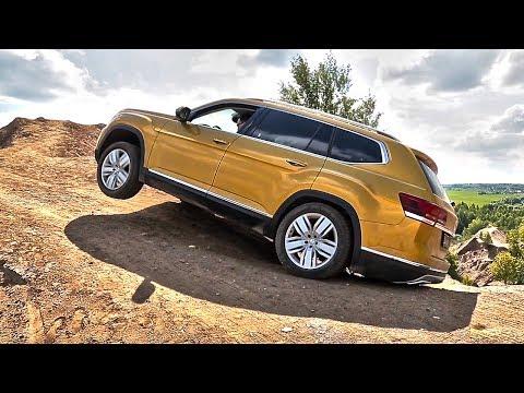 [Clickoncar] ЛЕНД КРУЗЕР от Фольксвагена! ТЕРАМОНТ! Тест драйв и обзор Volkswagen Teramont