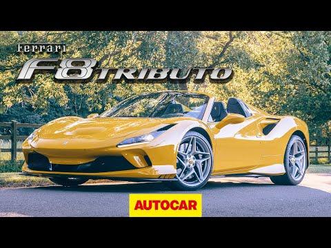 [Autocar] Ferrari F8 Spider Review | new Ferrari Tributo convertible driven
