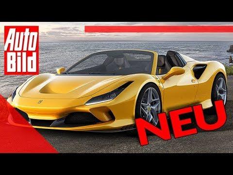 [AUTO BILD] Ferrari F8 Spider (2020): Auto - Neuvorstellung - Motor - Infos