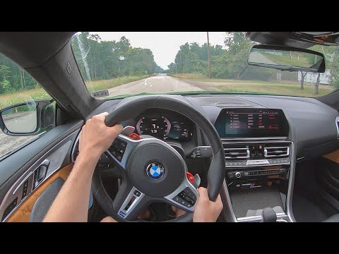 [WR Magazine] 2020 BMW M8 Competition - POV Test Drive (Binaural Audio)