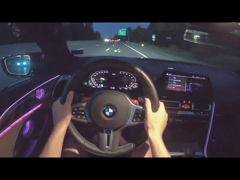 [WR Magazine] 2020 BMW M8 Competition - POV Night Drive (Binaural Audio)