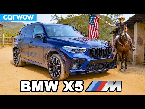 [carwow] BMW X5M review - will it pass my 7 USA challenges?