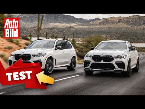 [AUTO BILD] BMW X5/X6 M Competition (2020): Test - Neuvorstellung - SUV - Info - V8 - deutsch