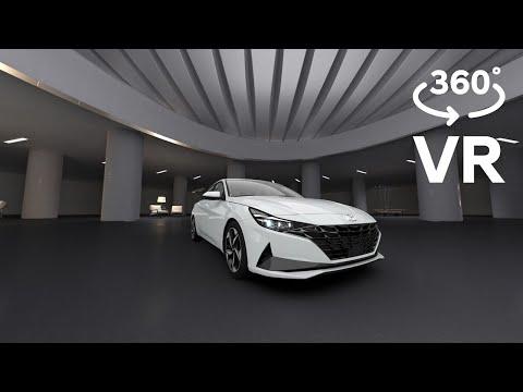 [현대자동차] 올 뉴 아반떼 360도 VR 쇼룸 [외장편]
