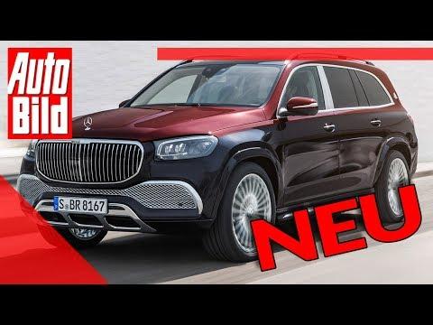 [AUTO BILD] Mercedes-Maybach GLS (2020): Neuvorstellung - Luxus - SUV - Infos