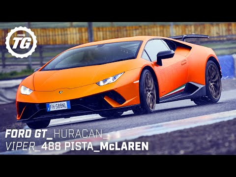 [Top Gear] Chris Harris Drives... Best of Supercars: Ford GT, Lamborghini Huracan, 488 Pista