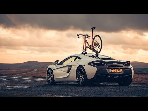 [McLaren] McLaren 570GT vs Specialized Roubaix: testing tyres to the limit