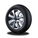 p185/60 R15 타이어 & 15인치 알로이 휠이미지
