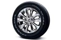 235/60R17 타이어 & 스퍼터링 휠이미지