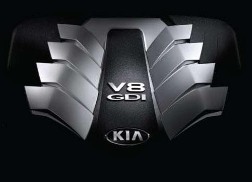 V8 5.0 GDI 엔진이미지