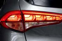 LED 리어콤비램프(제동등, 후미등 적용)이미지