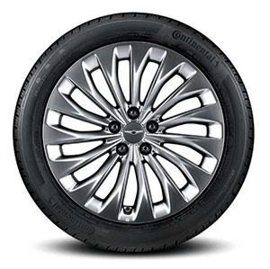 245/45R19(앞) & 275/40R19(뒤) 콘티넨탈 타이어 & 알로이 휠이미지