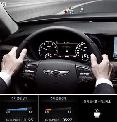 부주의 운전 경보 시스템(DAA)이미지