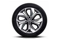 18인치 투톤 알로이 휠 & 245/45R18 타이어