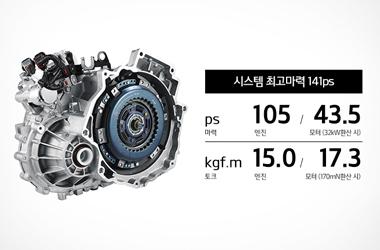 카파 1.6GDI 엔진과 6단 DCT이미지