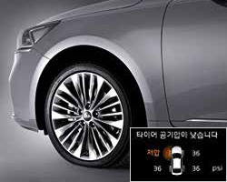 개별 타이어 공기압 경보 시스템 (TPMS)이미지