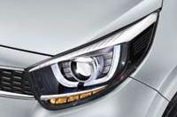 프로젝션 헤드램프 (LED DRL, LED 포지셔닝 램프, LED 방향지시등 포함)이미지
