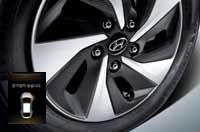 개별 타이어 공기압 경보 장치 (TPMS)이미지