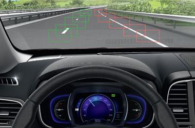 차선이탈 경보 시스템 (LDW)이미지
