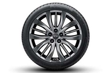 245/40R19(앞) & 275/35R19(뒤) 콘티넨탈 타이어 & 휠
