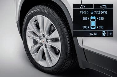 타이어공기압경고장치 (TPMS)이미지