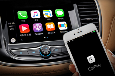 Apple CarPlay 시스템이미지