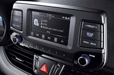 오디오(MP3, 5인치 단색 LCD)이미지