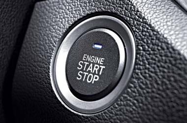 버튼 시동 & 스마트키 시스템이미지