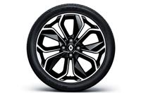 17인치 블랙 투톤 알로이 휠 & P205/45ZR 17 타이어이미지