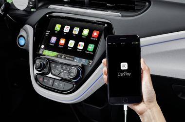 Apple CarPlay 탑재이미지