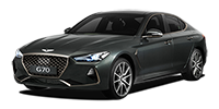 제네시스 G70 2020년형 가솔린 터보 2.0 RWD (개별소비세 3.5% 적용) 스포츠 패키지 (A/T)