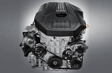 가솔린 2.0 터보 엔진이미지