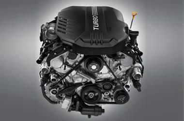 가솔린 3.3 V6 터보 엔진이미지
