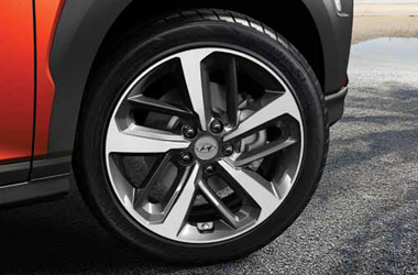 18인치 알로이 휠 & 타이어