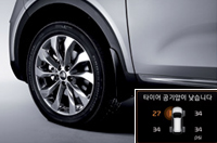 개별 타이어 공기압 경보 시스템이미지