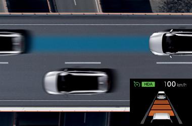 고속도로 주행 보조(HDA)이미지