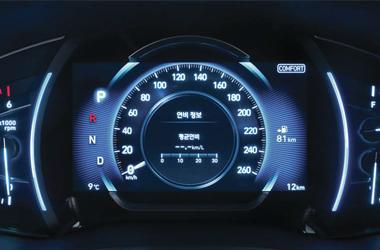 버추얼 클러스터 (7인치 컬러 LCD)