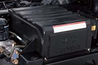 무보수 MF120 배터리와 배터리 커버이미지