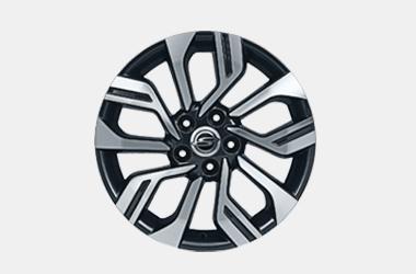 205/55R17 타이어 & 다이아몬드 커팅 휠이미지