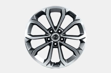 215/45R18 타이어 & 다이아몬드 커팅 휠이미지